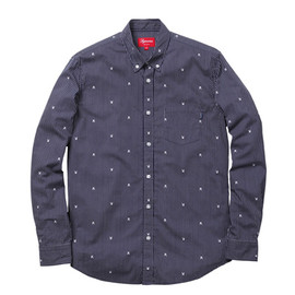 Supreme - Supreme×Playboy Stripe Shirts Navy