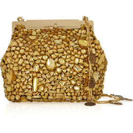 DOLCE&GABBANA - SS2014 Sarah crystal-embellished shoulder bag