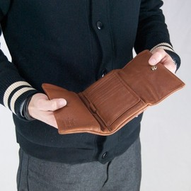 victoria leather ビクトリアレザー - TRAVEL WALLET  MADE IN USA