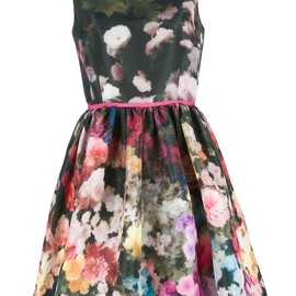 RED VALENTINO - floral dress
