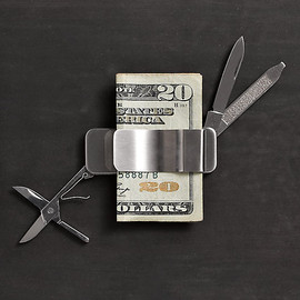Restration Hardware - 5-in-1 Money Clip