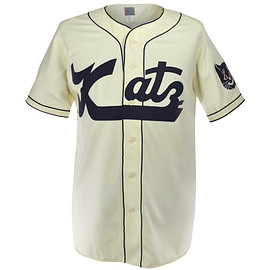 Ebbets Field Flannels - Kansas City Katz 1961 Home