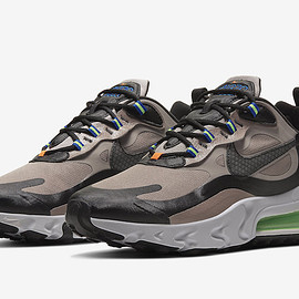 NIKE - Air Max 270 React Winter - Khaki/Black