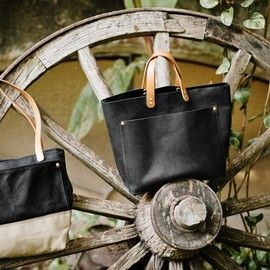 BEXAR Goods - Waxed Canvas Tote Bag