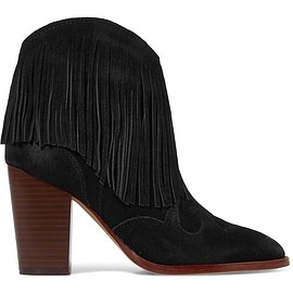 Sam Edelman - Benjie fringed suede ankle boots