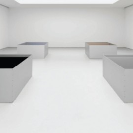 David Zwirner Gallery - for Donald Judd Exhibition