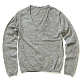 Cruciani - V-Neck Cashmere Silk Sweater