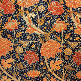 Cray furnishing fabric 1885