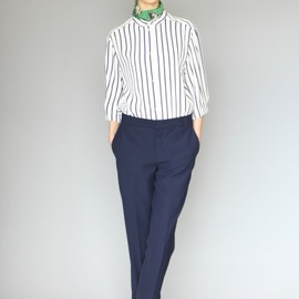 KAREN WALKER - stripe shirt