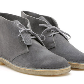 Clarks - Desert Boot Distressed Grey