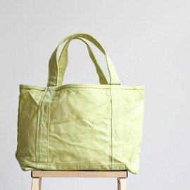 TEMBEA - TOTE BAG - VEGETABLE DYE -(草木染めトートバッグ) / yellow