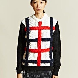 J.W.Anderson - Braided Cable Sweater