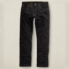 RRL - Low Straight Rigid Denim