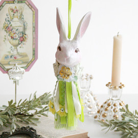 Kino - Flower Bunny Tassel (Small) グリーン