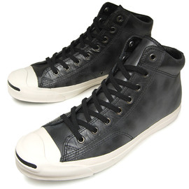 CONVERSE - Jack Purcell WX leather MID Black