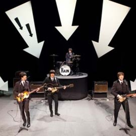 RAIN   - A TRIBUTE TO THE BEATLES - - Ed Sullivan Show