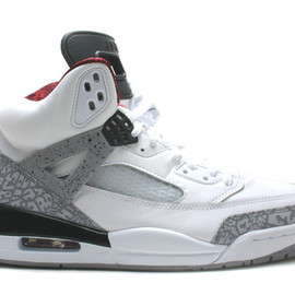 NIKE - AIR JORDAN SPIZ'IKE (White/Cement Grey)