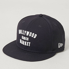 HOLLYWOOD RANCH MARKET - 【NEWERA・HOLLYWOOD RANCH MARKET】NEWERA・HRM HR MARKET ベースボールキャップ