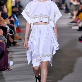 3.1 Phillip Lim - waistband and asymmetrical skirts