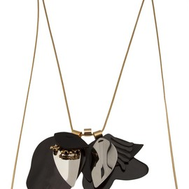 MARNI - Layered Cord Lock Necklace