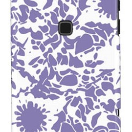 SECOND SKIN - kion 「flower mediumpurple」 / for ARROWS X F-02E/docomo