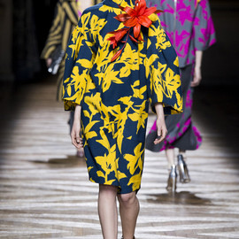 Dries Van Noten - Dries Van Noten Autumn/Winter 2014  Paris Fashion Week