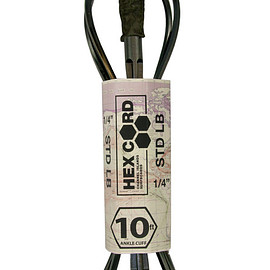 Channel Islands - CI Hex Cord Longboard Leash - 10'0 Ankle