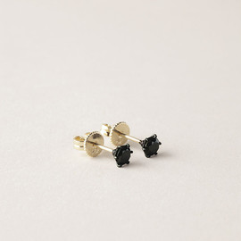 Jiwon Park - Black Diamond Earring
