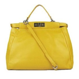 FENDI - yellow bag