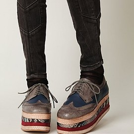 Free People - Stacked Wingtip