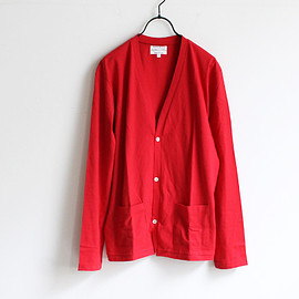 Pyjama Clothing - Cotton 3B Cardigan / red