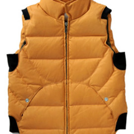 CYDERHOUSE - The Most Thin Deer Vest (camel)