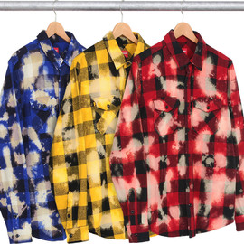 Supreme - Bleached Buffalo Heavyweight Flannel