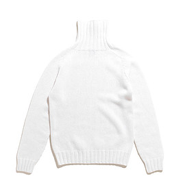 INVERALLAN - Geelong Roll Neck Knit-Ice White
