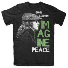 JOHN LENNON / IMAGINE PEACE / T-Shirts Tシャツ ジョン・レノン