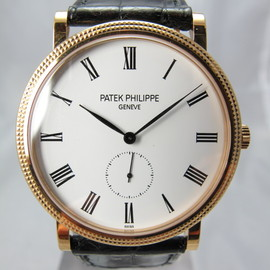 PATEK PHILIPPE - 18K YELLOW GOLD CALATRAVA