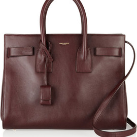 Saint Laurent - Sac Du Jour mini leather tote