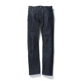 SOPHNET. - SLIM-FIT STRETCH JEANS (RIGID)