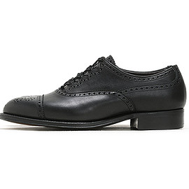 foot the coacher - British Gillie Shoes-Black