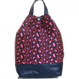 KENZO - Clouded-leopard print tote