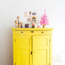 Planet Fur: Happiness is a yellow cabinet