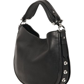 GIVENCHY - SMALL OBSEDIA STUDDED LEATHER BAG