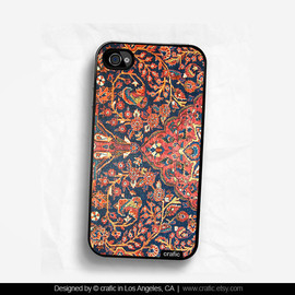 CRAFIC - Ancient Pattern iPhone Hard Case / Fits iPhone 4, 4s