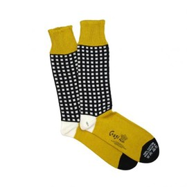SOLID MARCERISED COTTON SOCKS