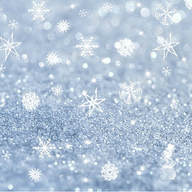 wholesale Blue Snowflake Snowflake Party backdrops for photography