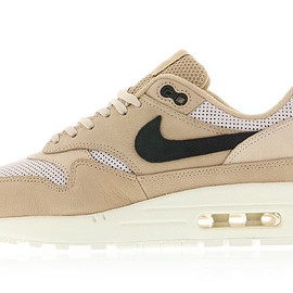 NIKE - Air Max 1 Pinnacle - Mushroom/Black/Light Bone/Oatmeal