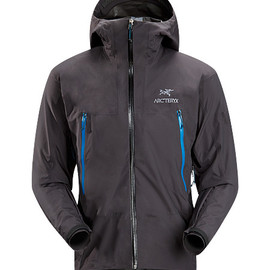 Arc'teryx - Alpha SL Jacket Men's Super lightweight, waterproof GORE-TEX® PacLite® jacket with essential backcountry features and helmet compatible Speed Hood®; ideal as an easily packable emergency storm jacket in an alpine environment.