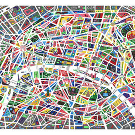 Antoine Corbineau - A MAP OF PARIS