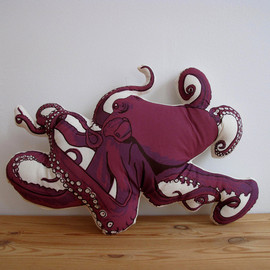 shannonbroder - Plush Octopus Pillow