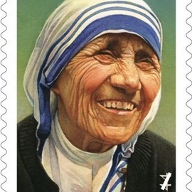 United Post Office  - Mother Teresa stamp